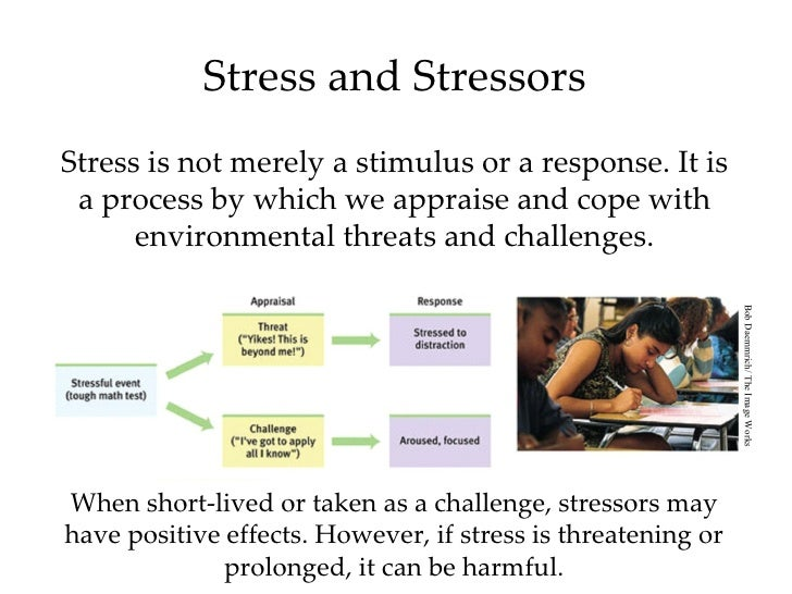 the triggers of psychological stress and its main health related consequences In the right amount, stress helps you prepare, focus, and perform at your optimal level conversely, too much stress, or bad stress, can cause performance anxiety, which hurts your health and does not allow you to play relaxed, confident, and focused in competition.