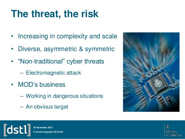 27 Nov 2013 Cyber Defence Cde Themed Competition Presentations