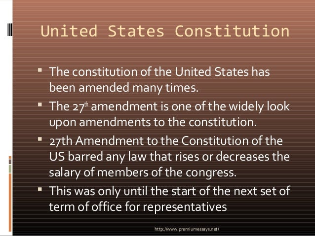 What are the First Ten Amendments to the United States Constitution?