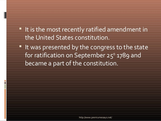 the second amendment of the us constitution essay The second amendment and gun control essay especially the second amendment of the us constitution which the united states constitution says that us.