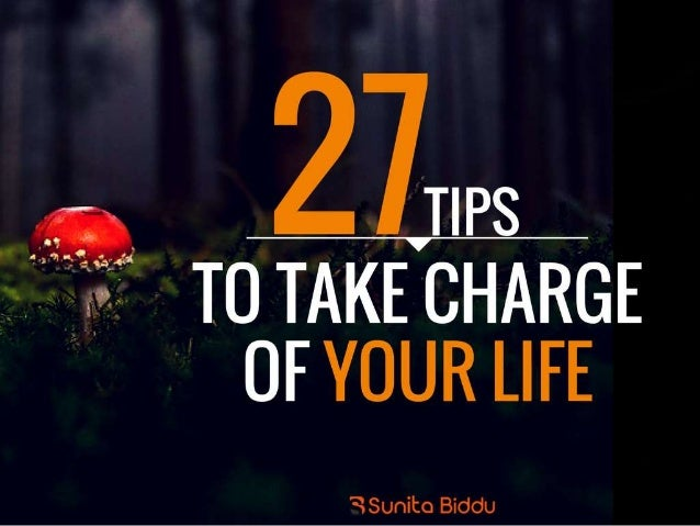 how to take charge of your life nlp