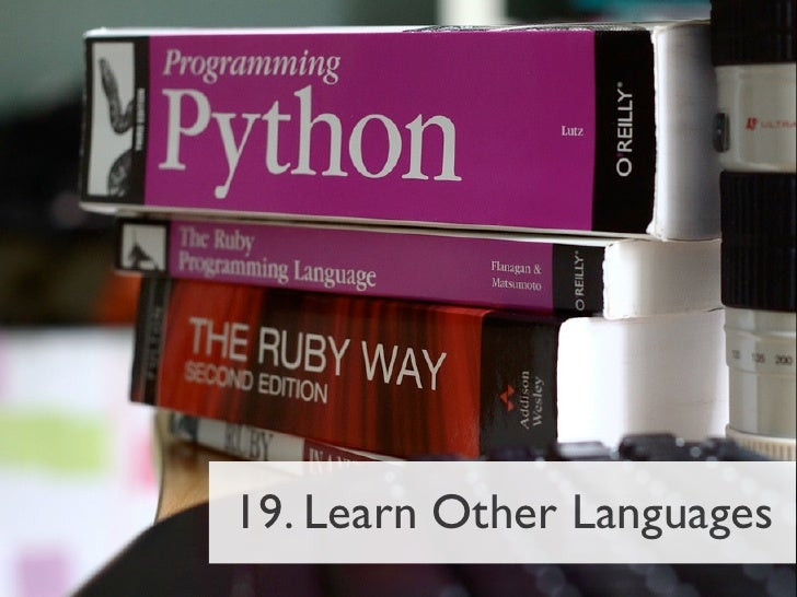 19. Learn Other Languages