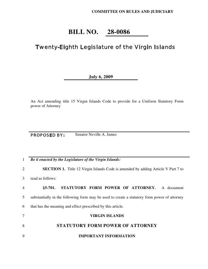 Billl No 280086 Amendment To Provide For A Uniform Statutory For – Employee Uniform Form