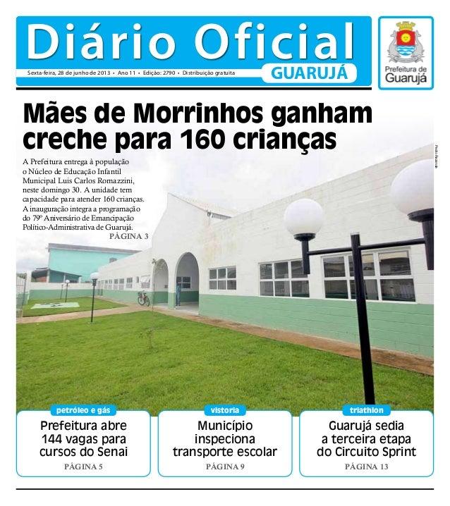 Prefeitura abre 144 vagas para cursos do Senai Página 5 petróleo e gás Guarujá sedia a terceira etapa do Circuito Sprint P...