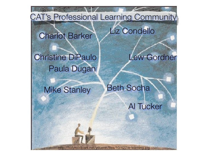 CAT's Professional Learning Community                                        Liz Condello   Charlot Barker   Christine DiP...