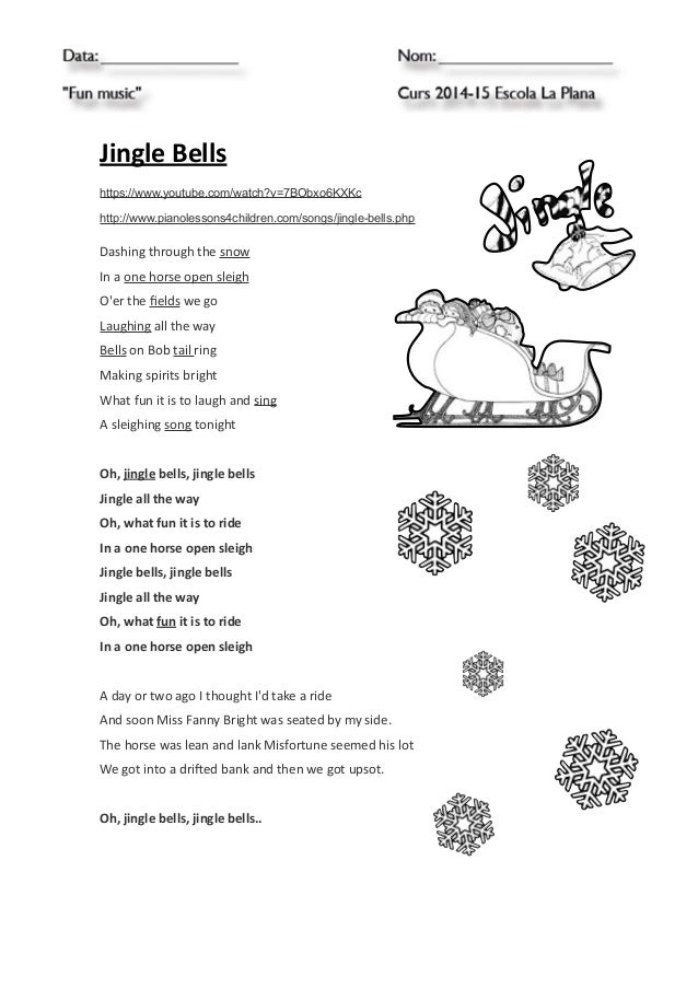 Jingle bells chords for