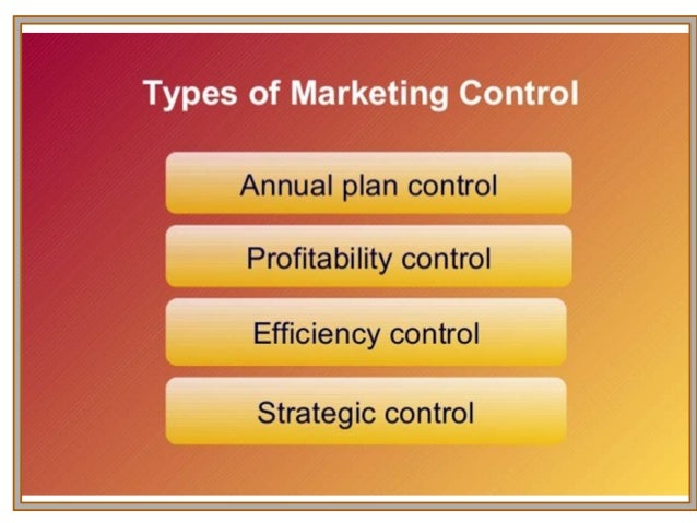 marketing controls Since business plans can never foresee all eventualities, good planning provides for contingencies to address unexpected events in marketing plans, projections for sales, revenue and market.