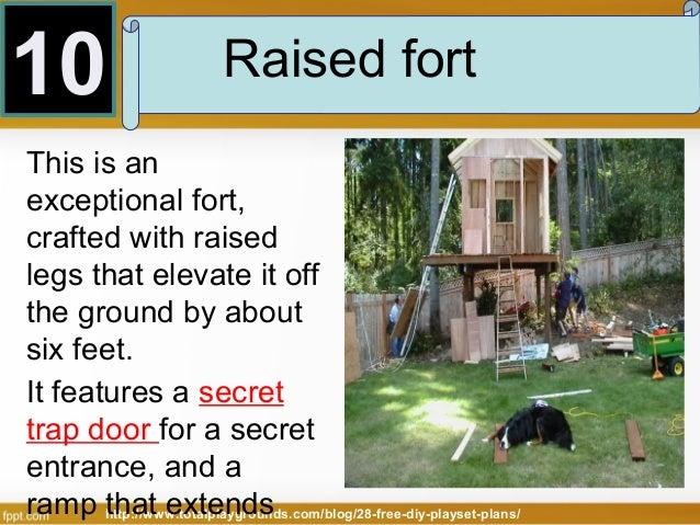 ... 19. 10 Raised Fort ...