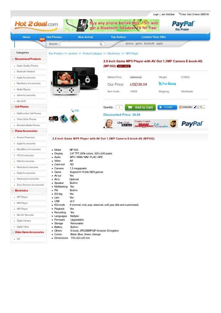 Login | Join Hot2deal   View Cart | 0 items USD0.00            Home                  Hot Phones                  New Arriv...