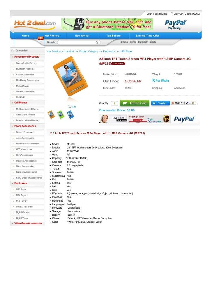 Login   Join Hot2deal   View Cart   0 items USD0.00            Home                  Hot Phones                  New Arriv...