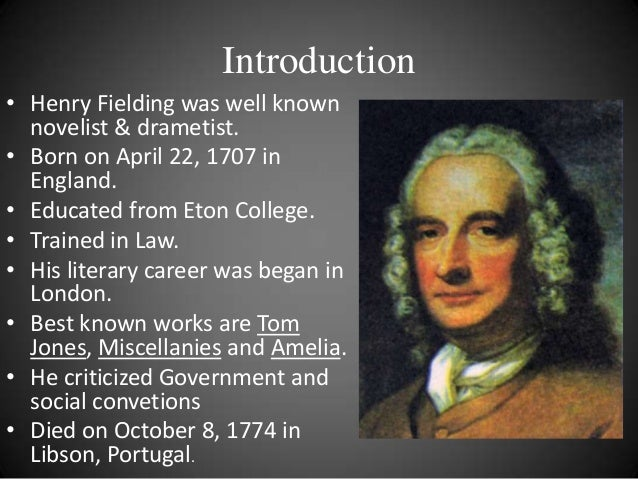 critical essays on henry fielding A suggested list of literary criticism on henry fielding's tom jones the listed critical essays and books will be invaluable for writing essays and papers on tom jones.
