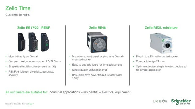 Zelio Time Electronic Relay Briefing