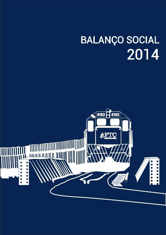 Balanço Social 2014