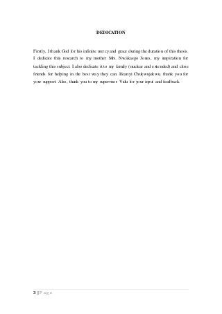 Dissertation edit
