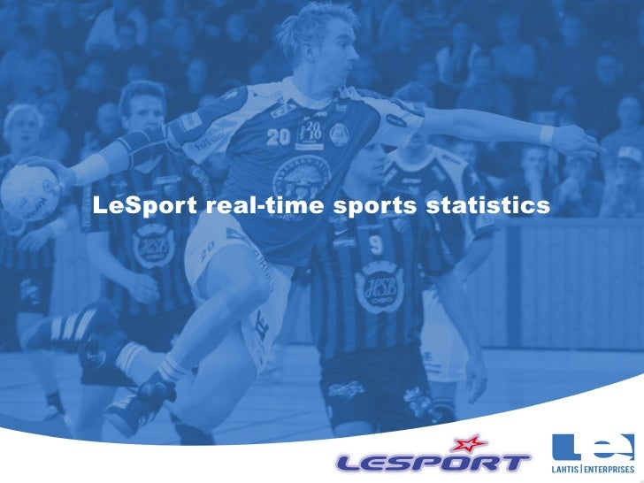 LeSport real-time sports statistics