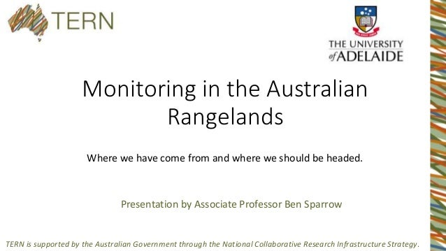 TERN is supported by the Australian Government through the National Collaborative Research Infrastructure Strategy. Monito...