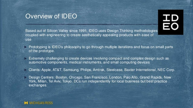 ideo product development case study