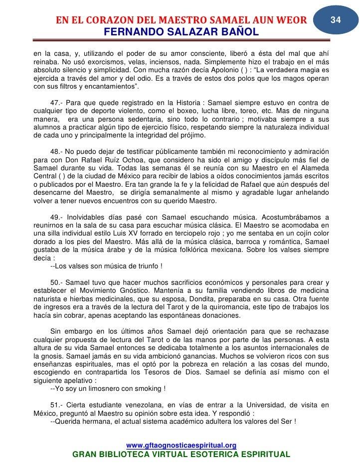 28 13 en el corazon del maestro www.gftaognosticaespiritual.org