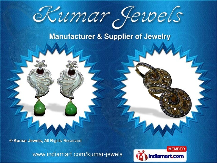 Manufacturer & Supplier of Jewelry
