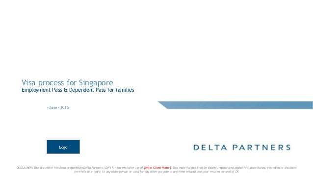 "DISCLAIMER: This document has been prepared by Delta Partners (""DP"") for the exclusive use of [enter Client Name]. This ma..."