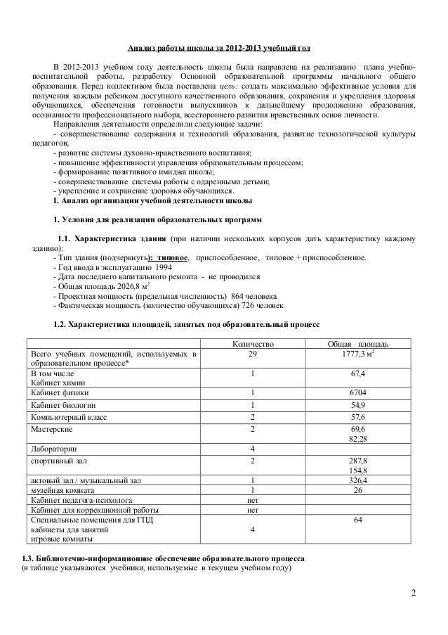 Анализ контрольной работы по фгос в начальной школе 7120