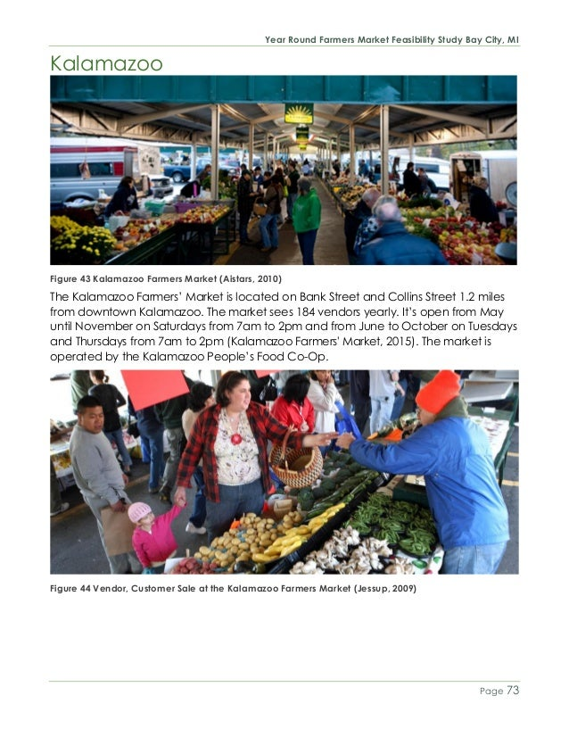 74 year round farmers market feasibility study bay city