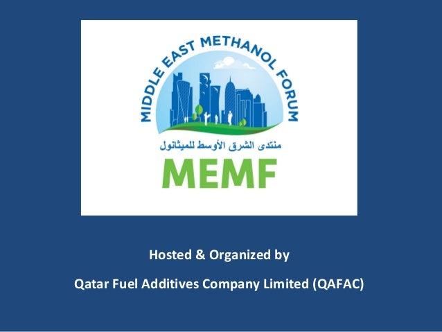 Hosted & Organized by Qatar Fuel Additives Company Limited (QAFAC)