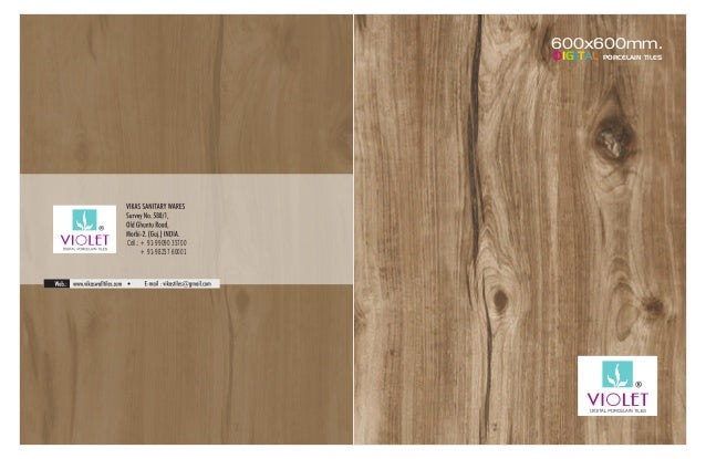 600x600mm. DIGITAL PORCELAIN TILES Cell.: +91-99090 35700 +91-98257 60001
