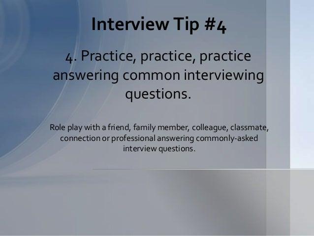 Interview ...