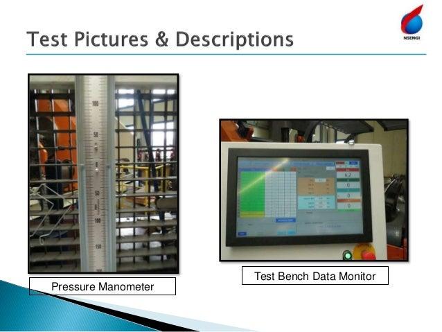 Pressure Manometer Test Bench Data Monitor