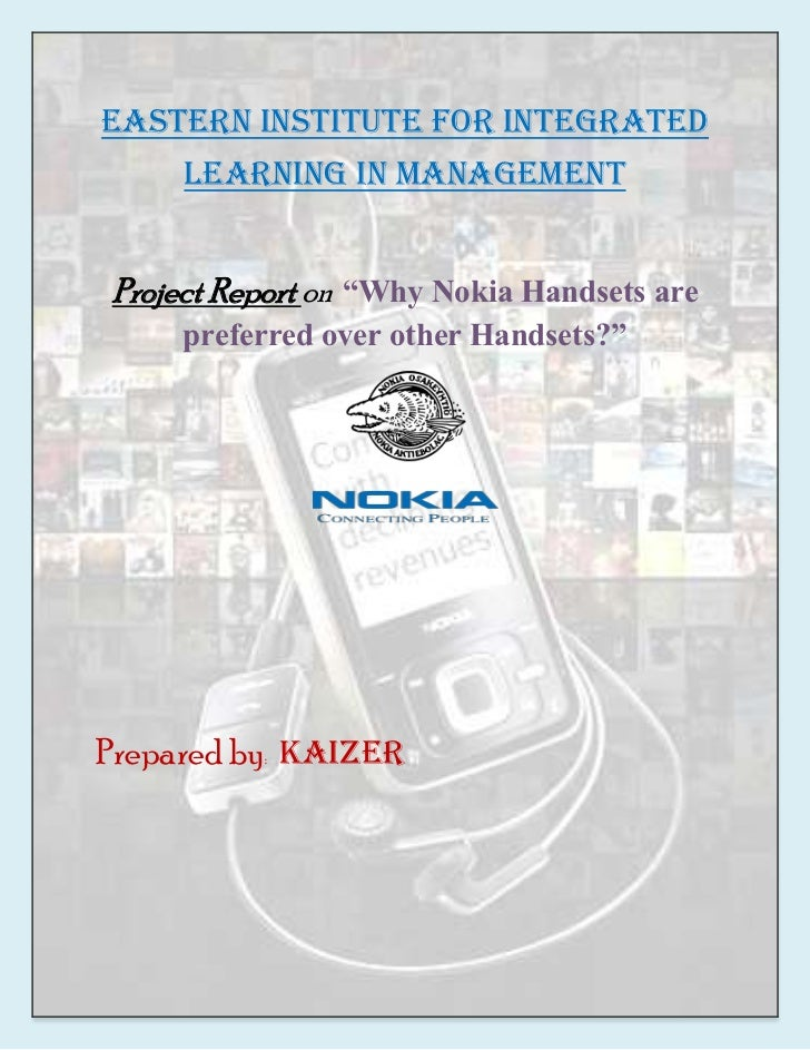 why nokia handsets are preferred over Study of mobile phone usage among the teenagers and youth centric handsets below reflects the population across different age groups and the prediction over.