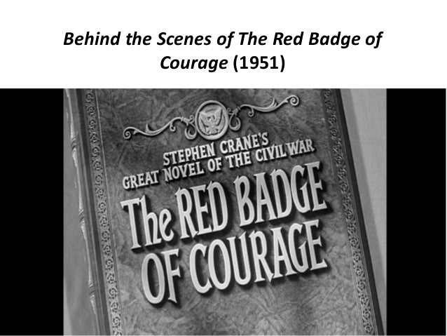 Behind the Scenes of The Red Badge of Courage (1951)
