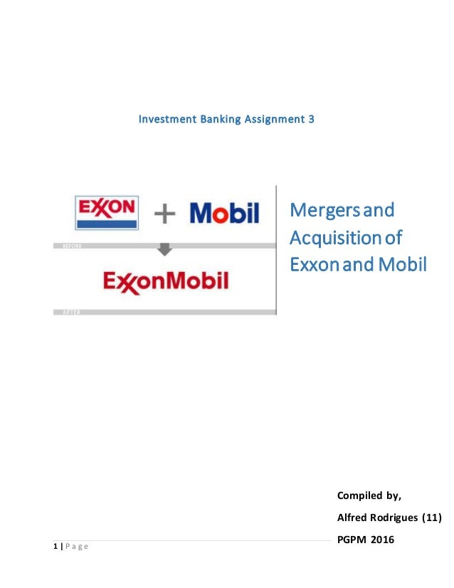 Exxon-Mobil 12 Years Later: Archetype of a Successful Deal
