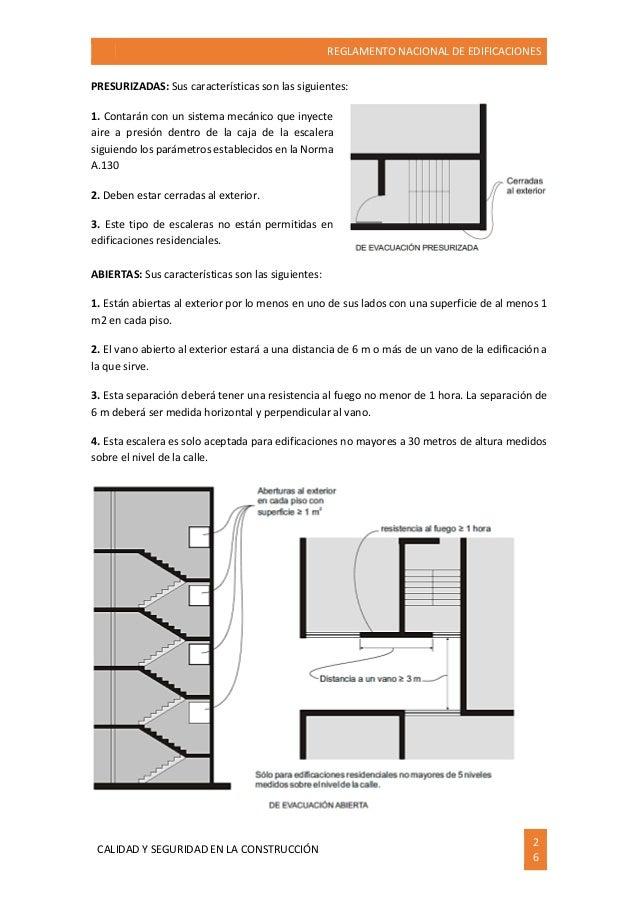 284966047 reglamento nacional de edificaciones ilustrado for Cuantos escalones tiene un piso