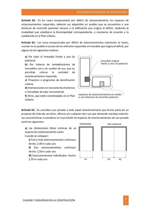 284966047 reglamento nacional de edificaciones ilustrado for Sanborns de los azulejos tiene estacionamiento