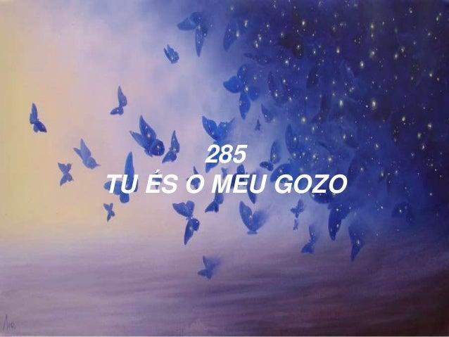 285 TU ÉS O MEU GOZO