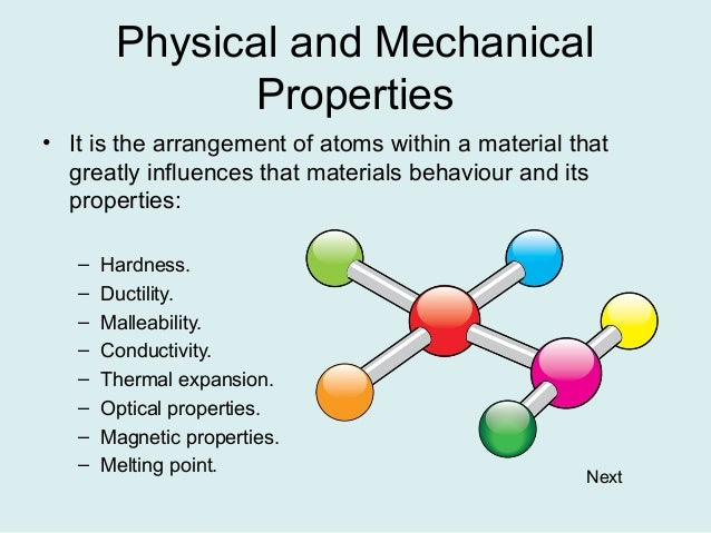 What Is A Chemical Property That Describes Copper