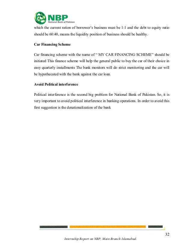 National Bank Of Pakistan Car Scheme