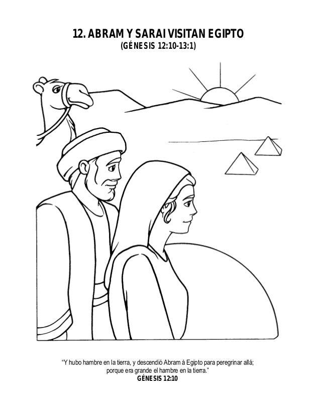 Magnífico Abraham Y Sarah Para Colorear Imagen - Ideas Para Colorear ...