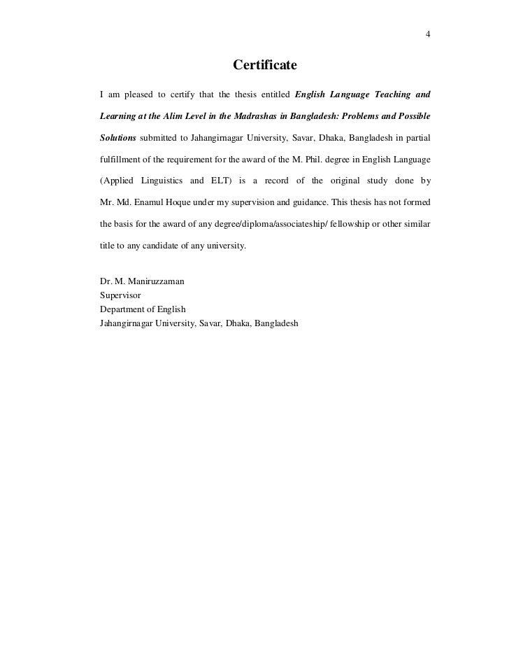 english literature dissertation structure