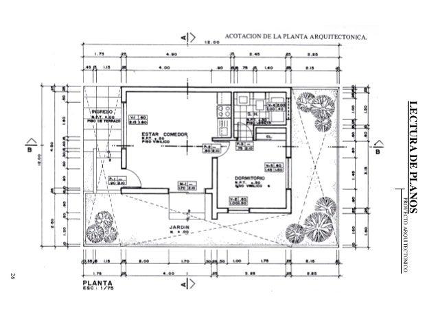 287500348 lectura de planos for Normas para planos arquitectonicos
