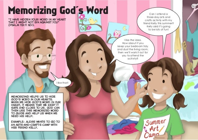 "Memorizing God's Word""I have hidden your word in my heartthat I might not sin against you""(Psalm 119:11 NIV).Memorizing he..."