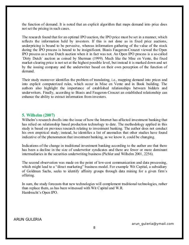 jetblue airways ipo valuation case study