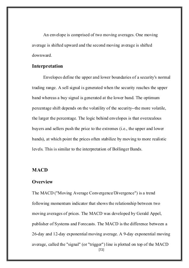 28810141 project report on technical analysis 72 altavistaventures Gallery