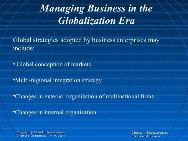 chapter 1 globalization Chapter 1 globalization: a contested concept in the autumn of 2001,i was  teaching an  understand that globalization is a contested concept that refers to.