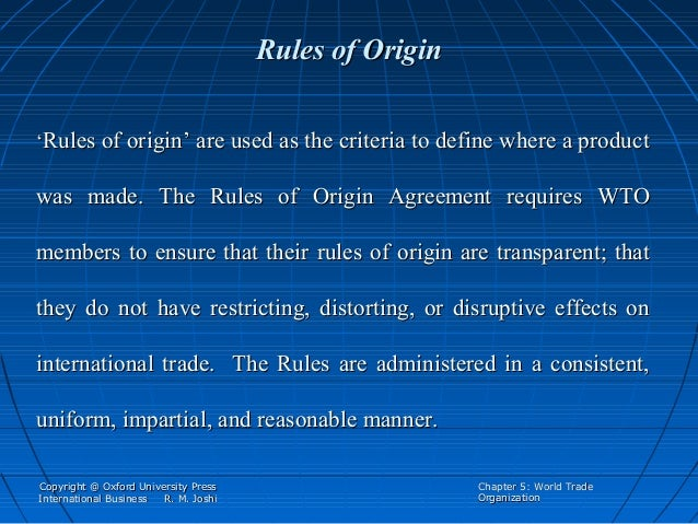 the origin and purpose of the world trade organization International trade organization: purpose:  the first comprehensive agreement in the organization's history  world trade report world trade organization.