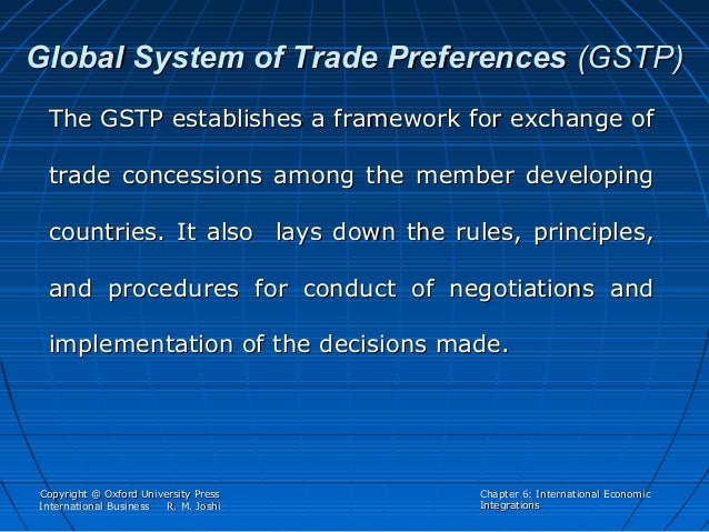 global system of trade preferences