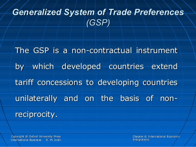 Agreement on the global system of trade preferences among developing countries
