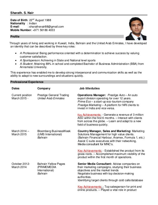 Resume Samples Distinctive Documents