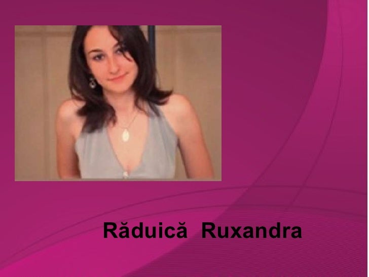 Răduică Ruxandra